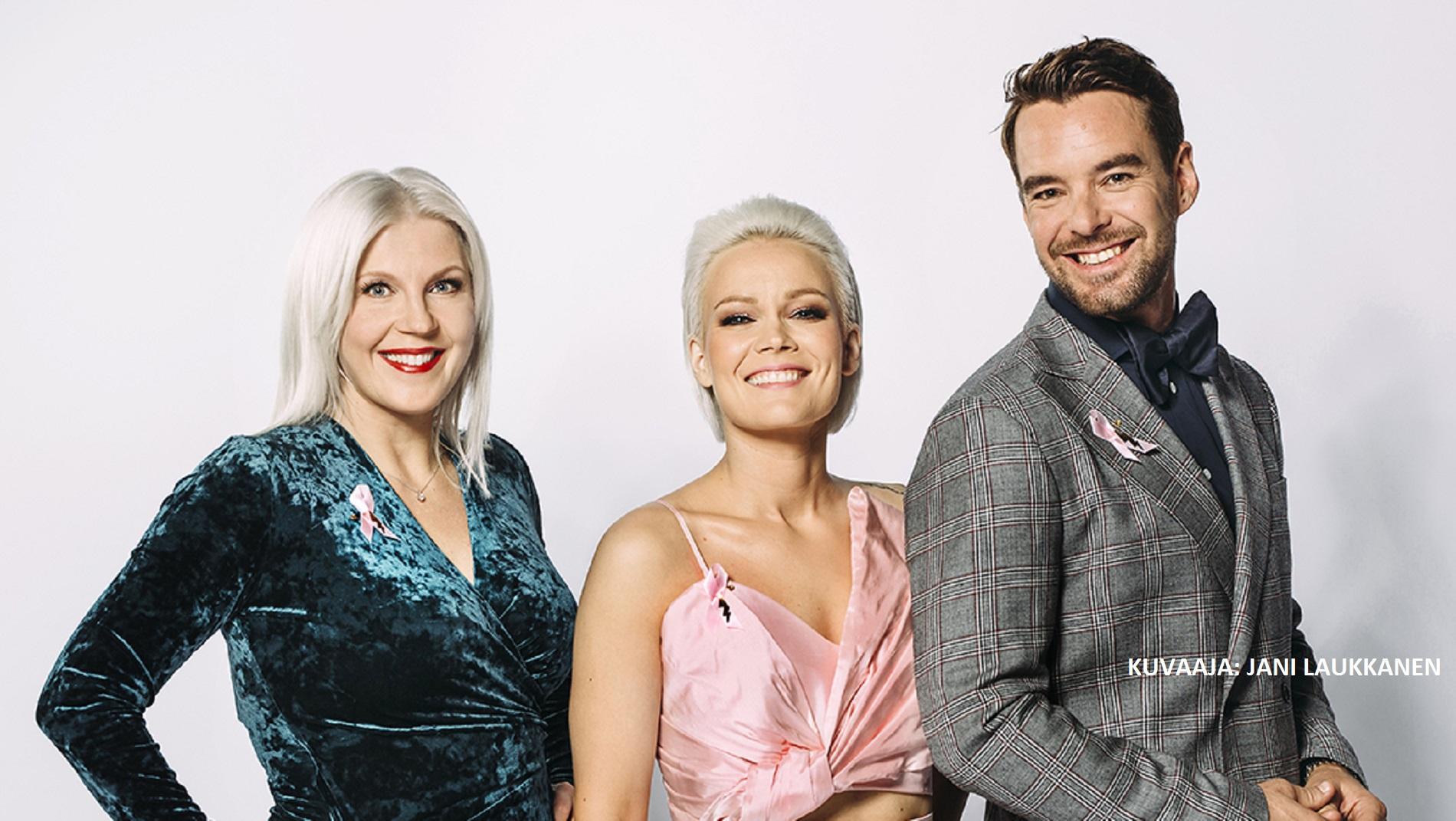 Roosa nauha Tanssii Tähtien Kanssa kerää varoja syöpätutkimukselle 31.10. MTV3:lla