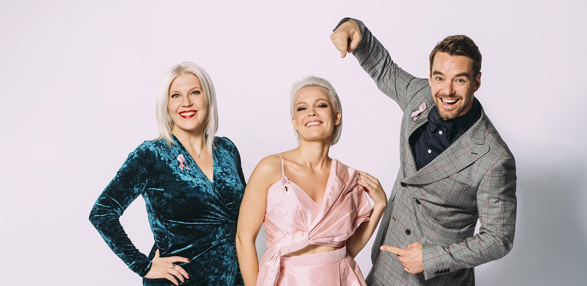 Roosa nauha Tanssii Tähtien Kanssa -ohjelma rikkoi ennätyksiä
