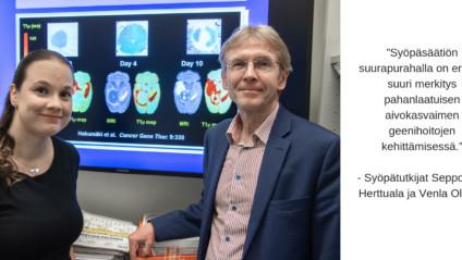 Uusi geenihoito tuhoaa tulevaisuudessa vakavan aivokasvaimen jäänteitä