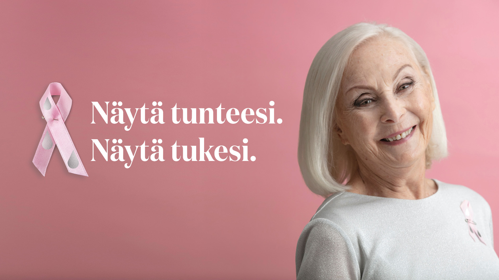 SEELA SELLAHAASTAA JOKAISEN NÄYTTÄMÄÄN TUKENSA ROOSA NAUHALLA