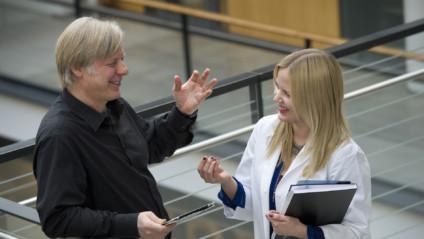 Pikatreffit syöpätutkija Juha Klefströmin kanssa