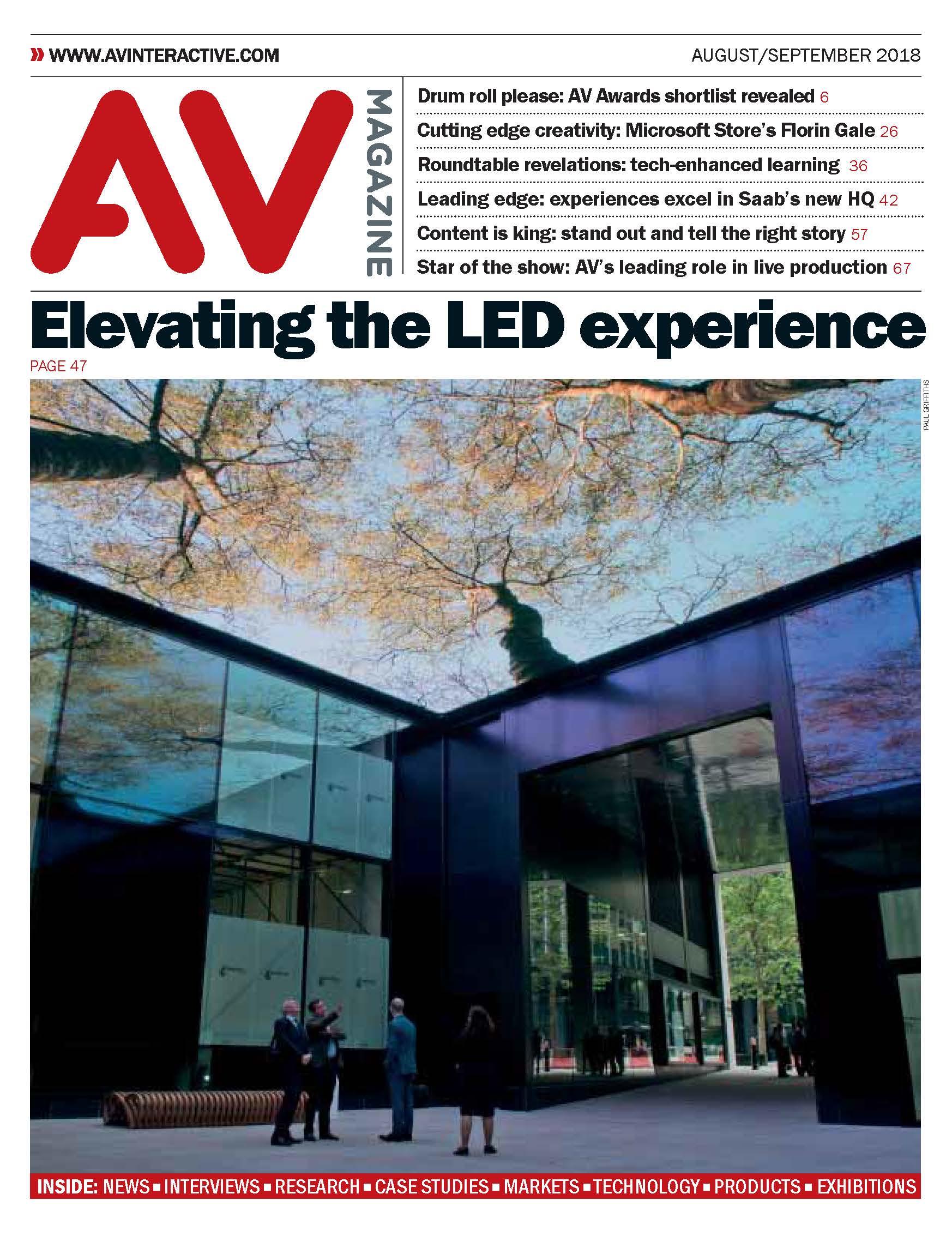 AV Magazine August / September 2018