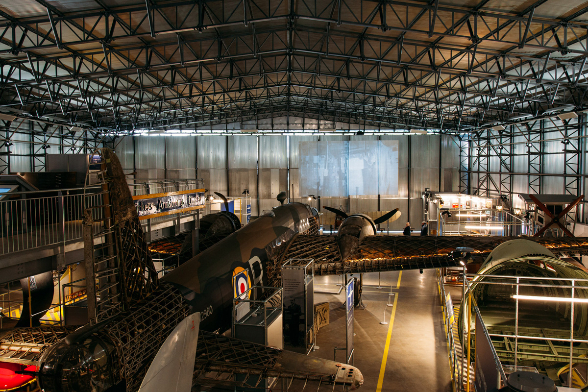 BROOKLANDS MUSEUM: AIRCRAFT FACTORY AND RACETRACK REVIVAL