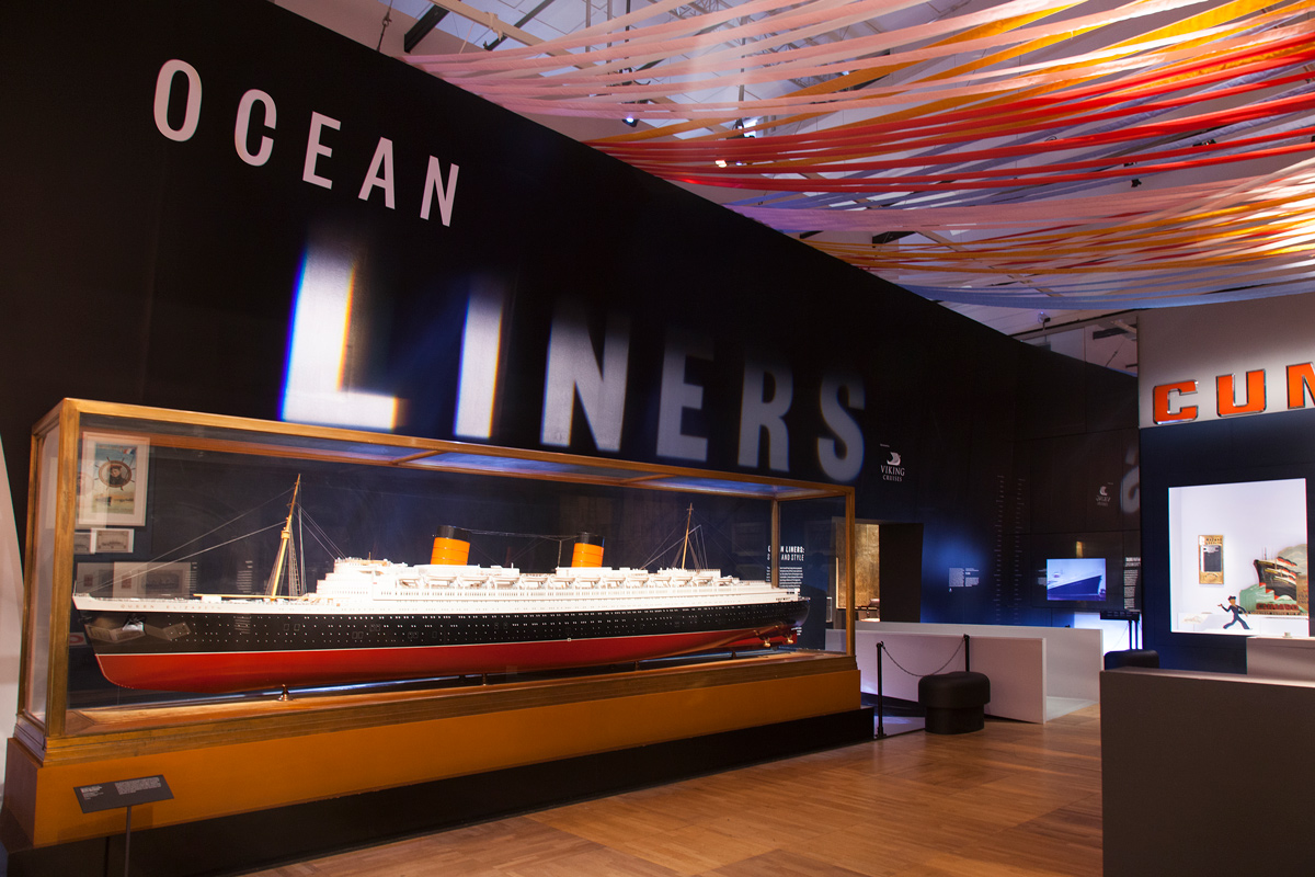 V&A: OCEAN LINERS: SPEED & STYLE