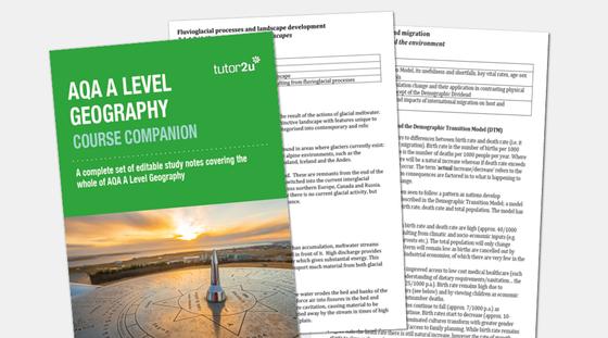 AQA A Level Geography Course Companion (Entire…   Geography   tutor2u