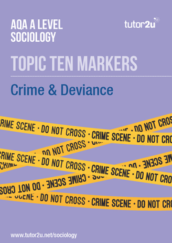 crime and deviance sociology crime deviance aqa a level sociology topic ten markers