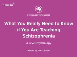 Schizophrenia Definition Psychology >> Schizophrenia Topics Psychology Tutor2u