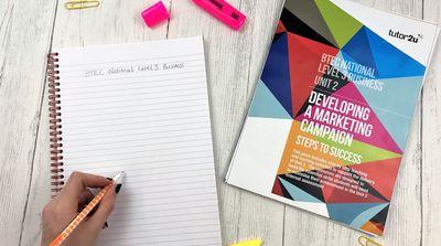 BTEC National Unit 2: Developing a Marketing…   Business   tutor2u