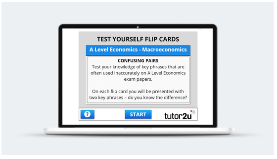 Macroeconomics - 'Test Yourself' activity… | Economics ...