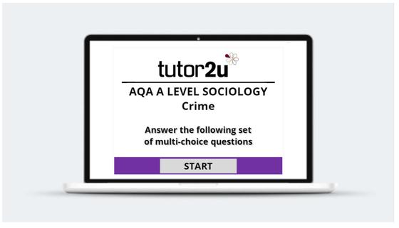 Crime - multi-choice quiz | Sociology | tutor2u