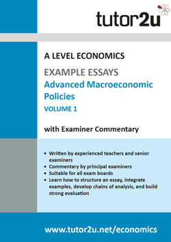 Example Top Grade Essays For A Level Economics  Tutoru Economics Advanced Macroeconomic Policies Example Essays Volume  For A Level  Economics