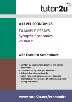 example top grade essays for a level economics economics synoptic example essays volume 2 for a level economics