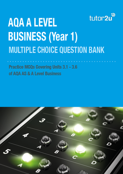 AQA A Level Business Year 1 (AS) MCQ Test Bank…   Business
