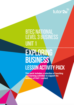 unit 1 exploring business activity Btec business level 3: m1 template btec business level 3: m1  template&period this is a template for the m1 task of unit 1: exploring  businesses&period.