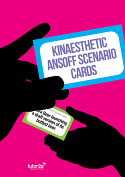 Kinaesthetic Ansoff | Business | tutor2u
