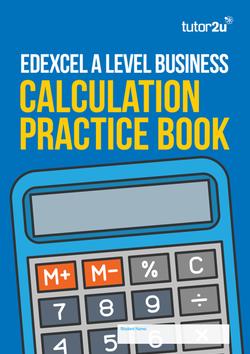Edexcel A Level Business Calculation Practice… | Business | tutor2u
