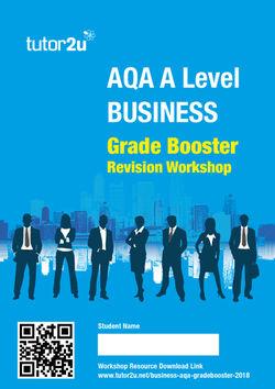 the edge in aqa a level business paper 1 mcq tutor2u business rh tutor2u net