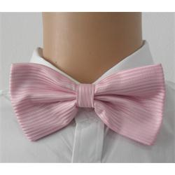 Pink-Stripe-Mens-Bow-Tie