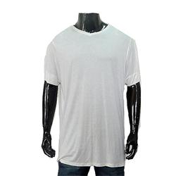 White Men's Plain T Shirt Sz XXL