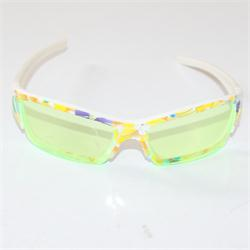 Cute Lemon Lenses Floral Pattern Girls Plastic Sunglass
