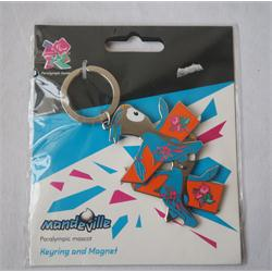 Mandeville Paralympic Mascot Keyring and Magnet