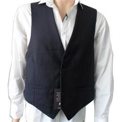 M  &  S Sartorial Purple-Black Mens Waist Coat Size- XL