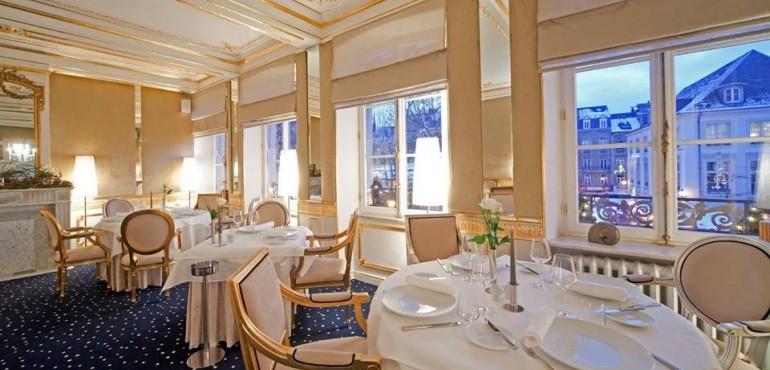 Restaurant La Cristallerie et l'Hôtel Le Place d'Armes