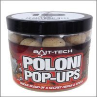 18mm Poloni Natural Pop Ups x 70g Tub