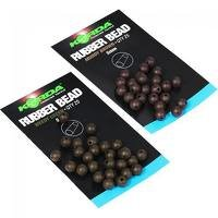 Korda 5mm Green Rubber Beads