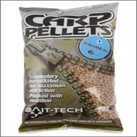 6mm Fishmeal Carp Feed Pellets x 2kg Bag