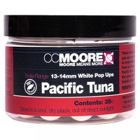CC Moore Pacific Tuna White Pop Ups 13-14mm