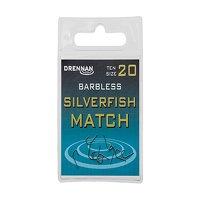 Drennan Barbless Silverfish Match Hooks Size 14