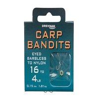 Drennan Carp Bandits Hooks to Nylon Size 18