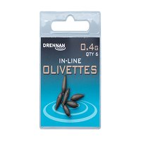 Drennan Inline Olivettes - 0.4g