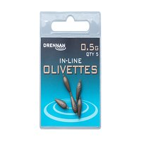 Drennan Inline Olivettes - 0.5g