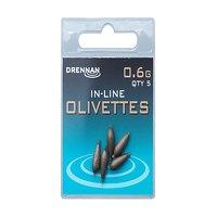Drennan Inline Olivettes - 0.6g