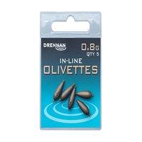 Drennan Inline Olivettes - 0.8g