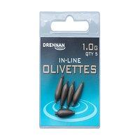 Drennan Inline Olivettes - 1.0g
