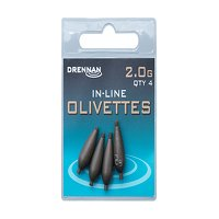 Drennan Inline Olivettes - 2.0g