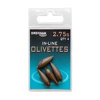 Drennan Inline Olivettes - 2.75g