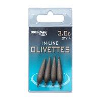 Drennan Inline Olivettes - 3.0g