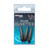 Drennan Inline Olivettes - 5.0g