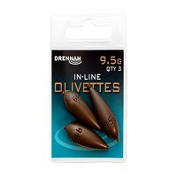 Drennan Inline Olivettes - 9.5g