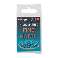 Drennan Micro Barbed Fine Match Hooks Size 24