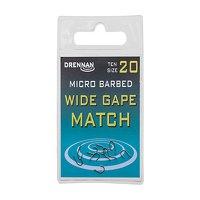Drennan Micro Barbed Wide Gape Match Hooks Size 14