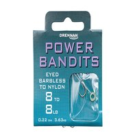 Drennan Power Bandits Hooks to Nylon Size 12