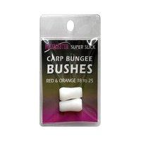 Drennan Super Slick Carp Bungee Bushes - 10-16 Yellow Pink