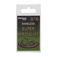 Drennan Super Specialist Micro Barbed Hooks Size 4