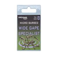 Drennan Wide Gape Specialist Micro Barbed Hooks Size 10