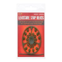 ESP Leadcore Stop Beads Weedy Green